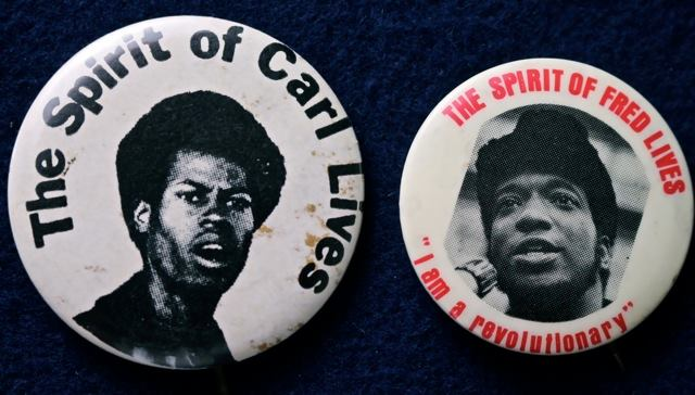 Two Black Activists, Carl and Fred Hampton